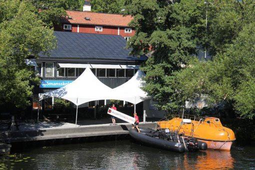 Navigationsgruppen på Långhomen i Stockholm