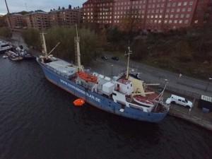 Praktisk och teoretisk utbildning hos Navigationsgruppen på Långholmen