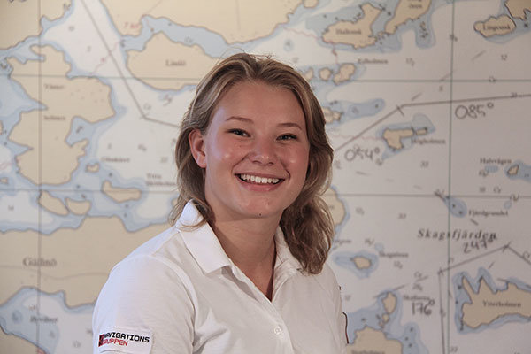 Ebba Serner administrativt ansvarig, instruktör förarintyg samt boatcamp