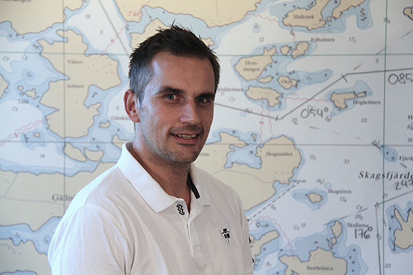 Emil Arnell instruktör förarintyg och kustskepparintyg