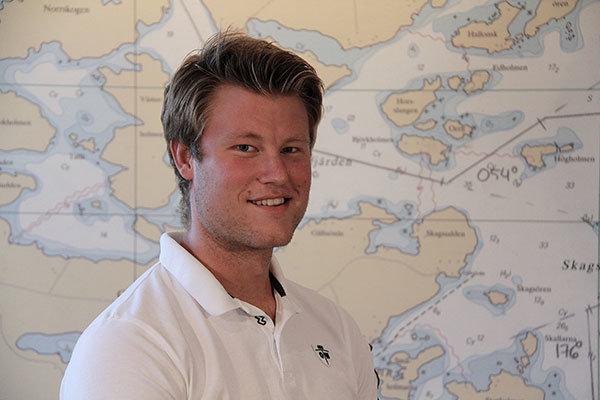 Fredrik Karlsson båtcoach och handhavande av snabba fartyg