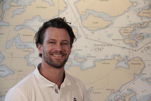 Joakim Berndt instruktör handhavande av snabba fartyg