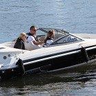 Båtövning för den praktiska delen av kursen