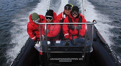 Båtpraktik kurs i Stockholm