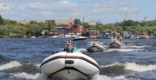 Båtutflykt utbildning i Stockholm
