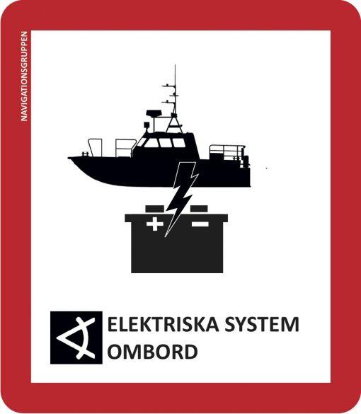 Uppdatera eller byt ut elsystemet på din båt   Navigationsgruppen